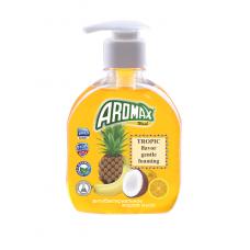 """Антибактериальное жидкое мыло """"AROMAX"""" с ароматом тропических фруктов Объем 300 мл."""