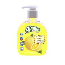 """Антибактериальное жидкое мыло """"AROMAX"""" с ароматом лимона Объем 300 мл."""