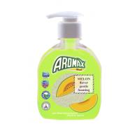 """Антибактериальное жидкое мыло """"AROMAX"""" с ароматом дыни Объем 300 мл."""