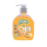 """Антибактериальное жидкое мыло """"AROMAX"""" с ароматом персика Объем 300 мл."""