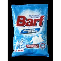 """Стиральный порошок """"Barf"""" для ручной стирки  с ароматом """"Морозная свежесть"""" 250 гр."""