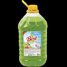 """Средство для мытья посуды """"Best"""" с ароматом Яблока Объем 5 л."""