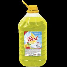 """Средство для мытья посуды """"Best"""" с ароматом Лимона Объем 5 л."""