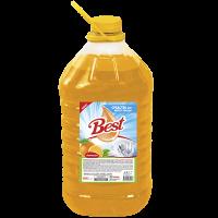 """Средство для мытья посуды """"Best"""" с ароматом Апельсина Объем 5 л."""